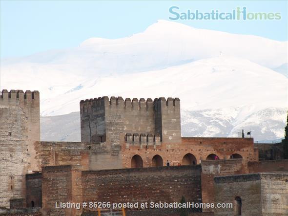 ALBAICIN HOUSE WITH PARKING. WIFI. BEAUTIFUL VIEWS ALHAMBRA Home Rental in Granada, AN, Spain 2